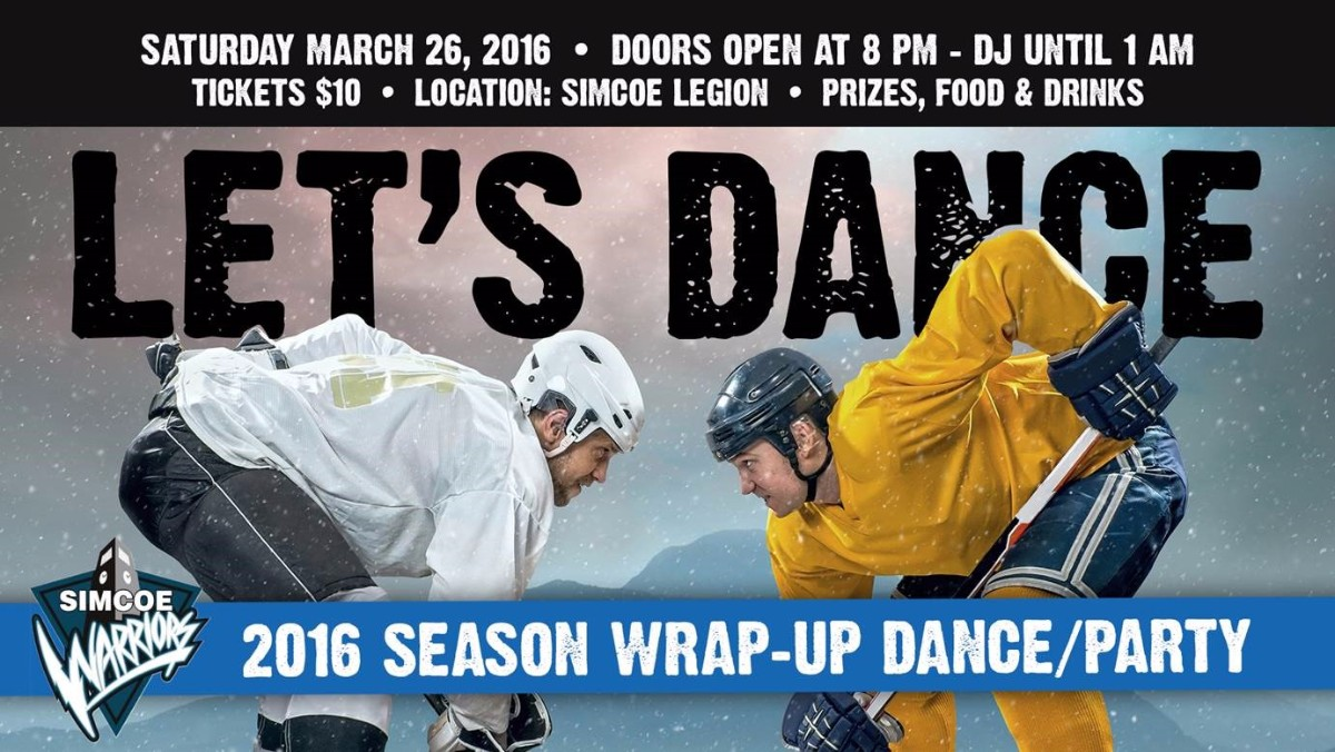 2016 Season Wrap-Up Dance/Party